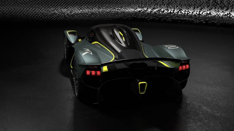 Aston Martin Valkyrie With Amr Track Performance Pack Stirling Green And Lime Livery 2