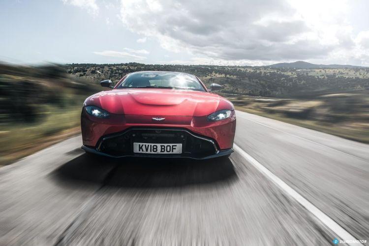 Aston Martin Vantage V8 2019 Prueba 010