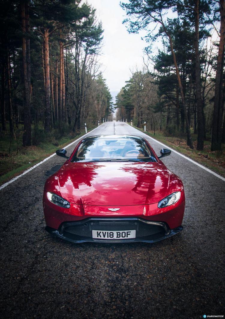 Aston Martin Vantage V8 2019 Prueba 018
