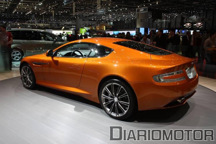 Aston Martin Virage en Ginebra