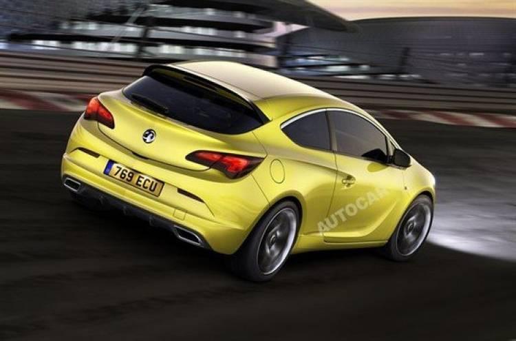 Autocar muestra posibles renders oficiales del Opel Astra OPC
