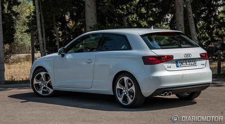 Audi A3 en Mallorca
