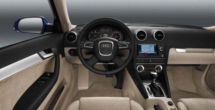 Audi A3 Sportback 2011, interior