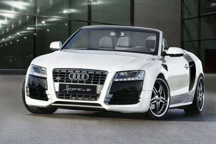 """Audi A5 Cabriolet """"convertido"""" en R8 por Hofele"""