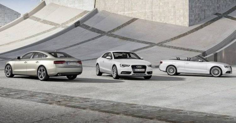 Audi A5, A5 Sportback y A5 Cabrio 2012