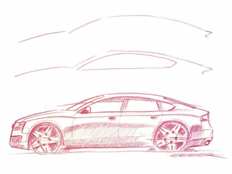 Teaser oficial del Audi A5 Sportback