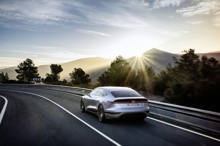 Audi A6 E Tron Concept
