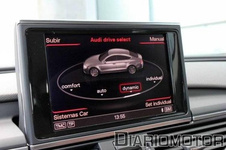 Audi A7 Sportback 3.0 TDI quattro S-Tronic, a prueba (II)