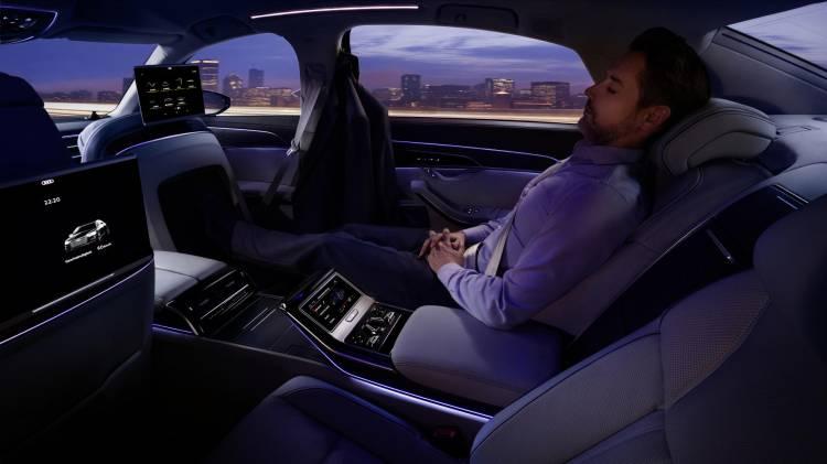 Plazas traseras Audi A8