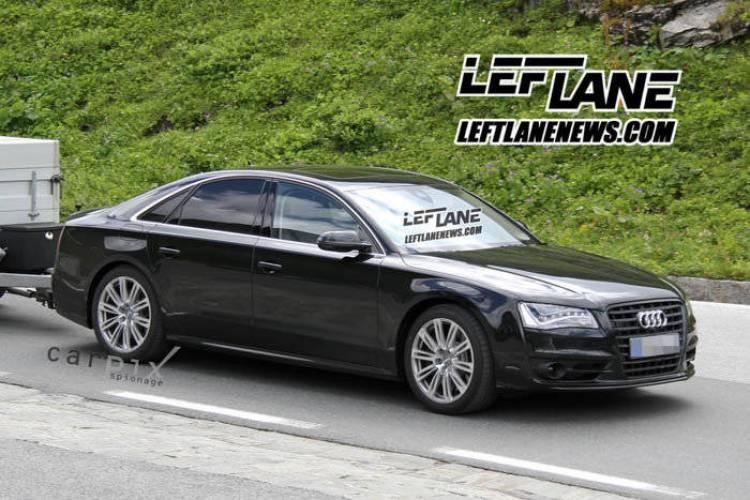 Fotos espía Audi S8 2012