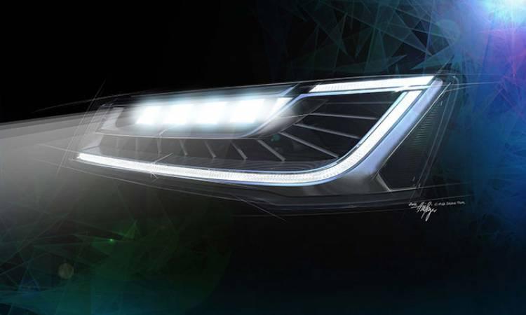 Audi A8 faros LED