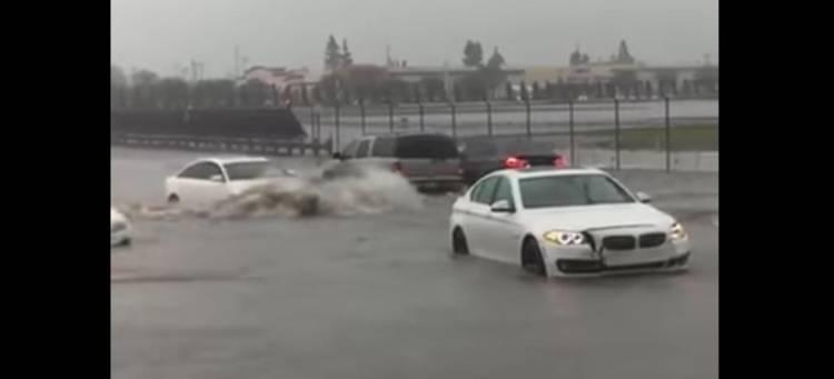 audi-bmw-inundacion-video
