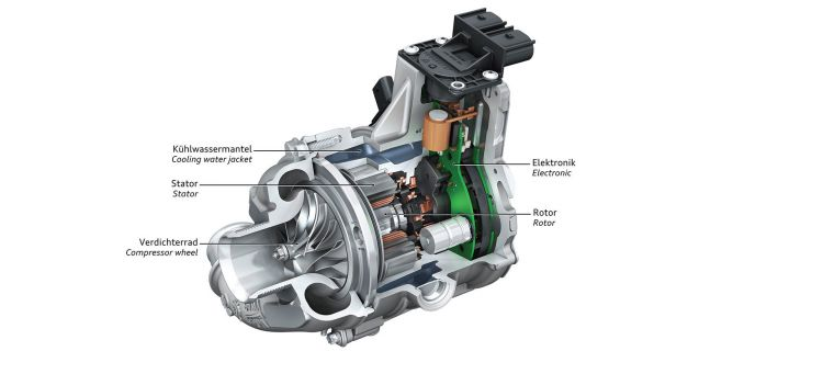 Audi Compresor Electrico Sq7 Tdi