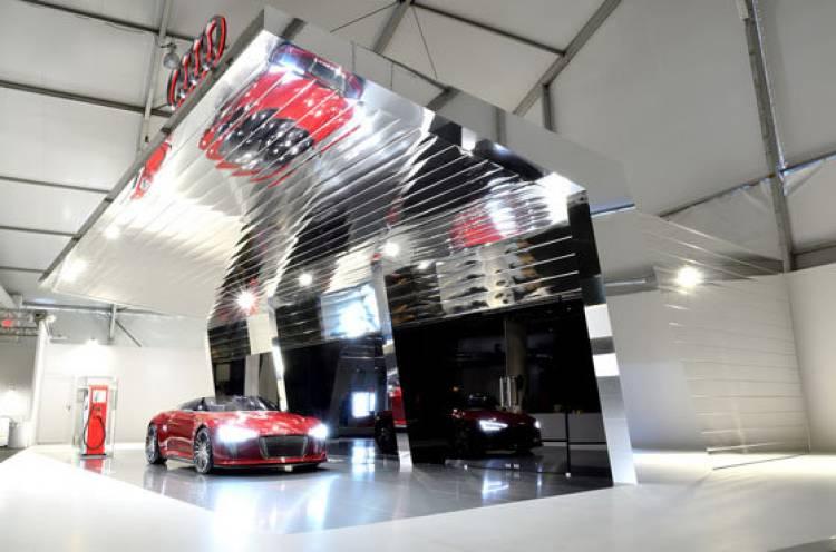 Electrolinera Audi e-den