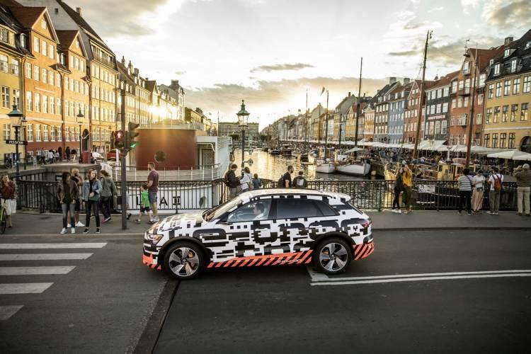 The Audi E Tron Prototype In Copenhagen