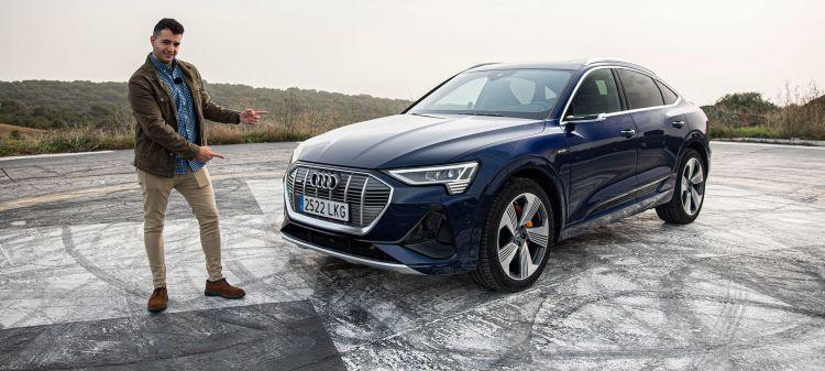 Audi E Tron Sportback 2020 Prueba Video