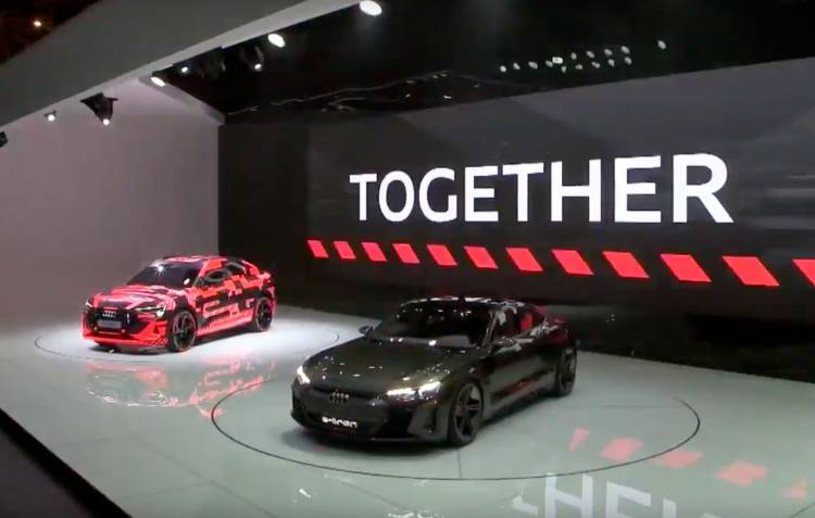 Audi E Tron Sportback Ginebra