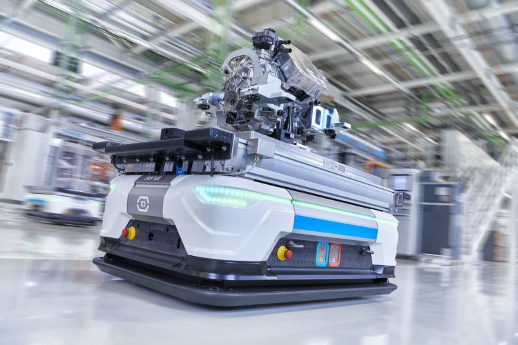 New Era: Audi Hungaria Starts Series Production Of Electric Mot