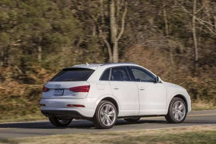 Audi Q3 US spec