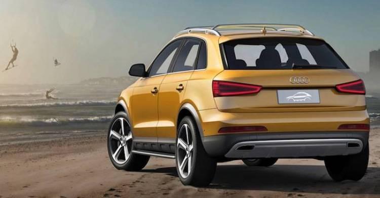 Audi Q3 jinglong yufeng