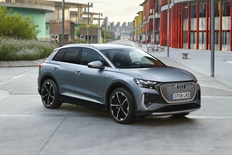 Audi Q4 E Tron 2021 0721 074