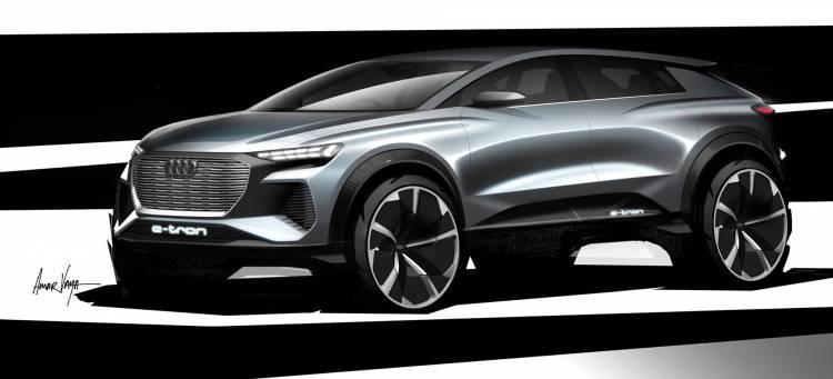Audi Q4 E Tron Concept 2019 Adelanto 01