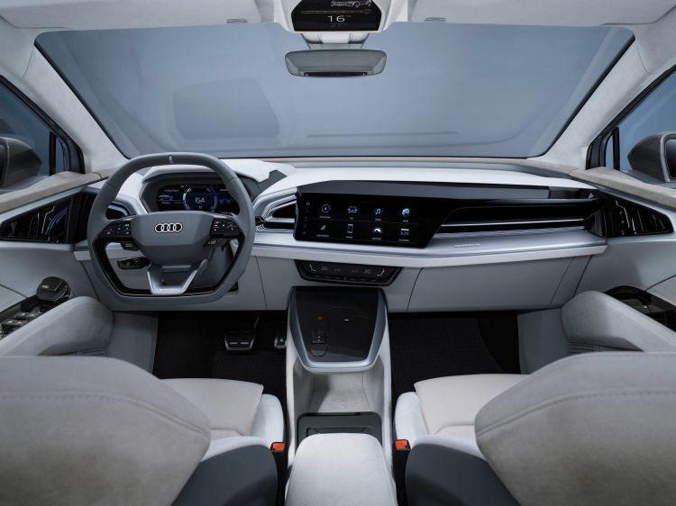 Audi Q4 E Tron Sportback Concept 39