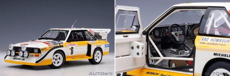 Audi Quattro Autoart Resultado