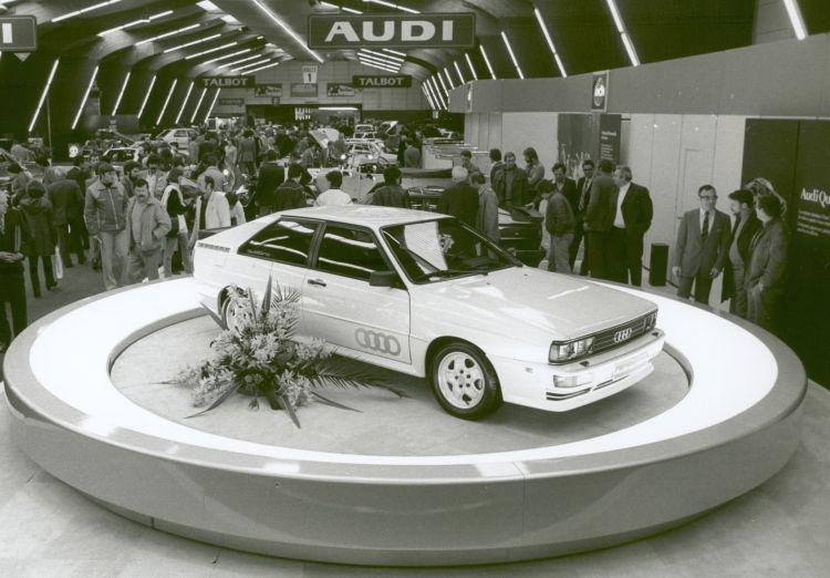 Audi Quattro Salon Ginebra 1980 01