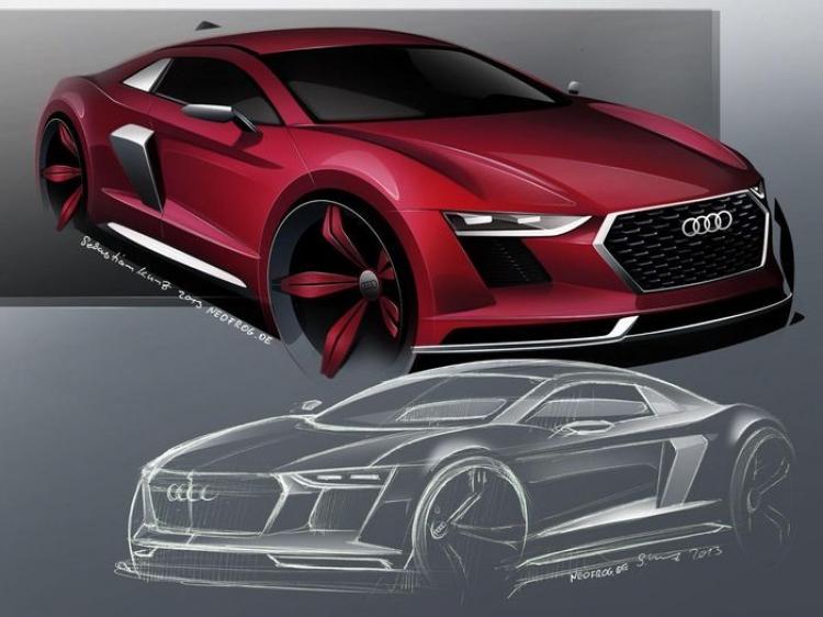 Así podría ser el próximo Audi R8, rumoreado para 2015