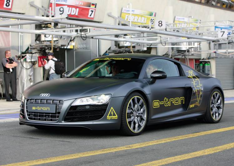 Audi R8 e-Tron en Le Mans