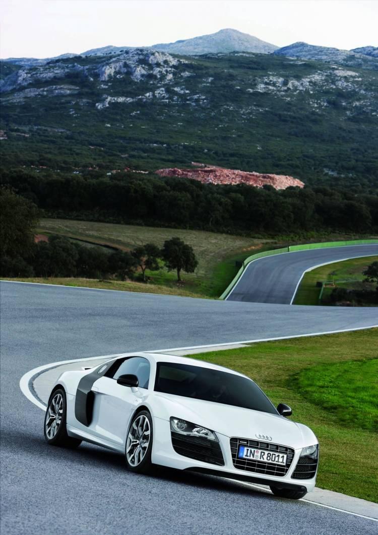 Audi R8 5.2 V10 FSI, nuevas imágenes dinámicas