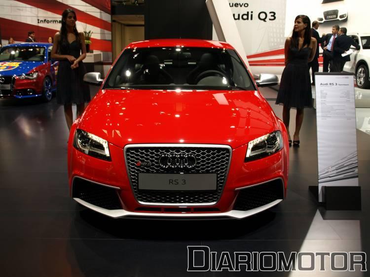Audi RS 3 Sportback en el Salón de Barcelona 2011
