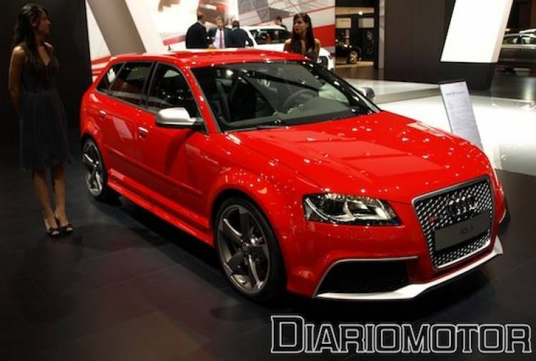 Audi RS 3 Sportback en el Salón de Barcelona