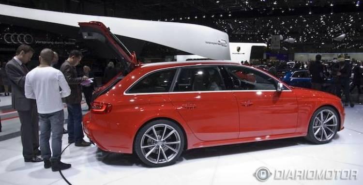 Audi TT RS Plus y RS4 Avant en Ginebra
