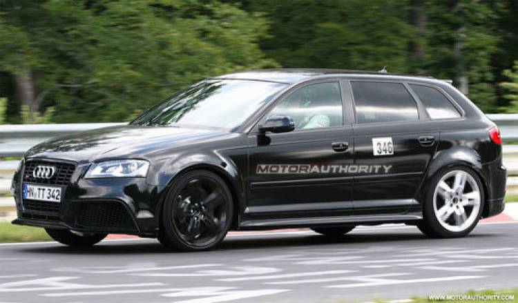 Foto espía Audi RS3
