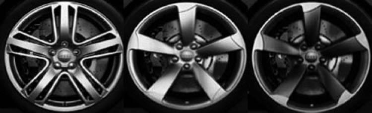 Audi RS5, llantas de aleación