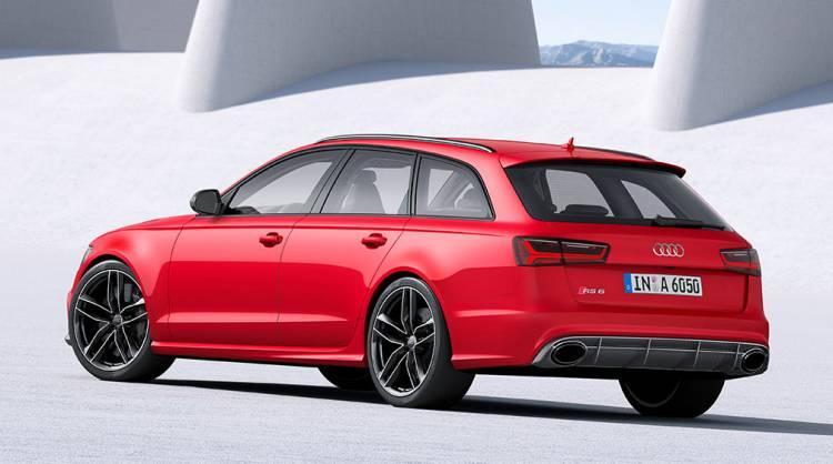 Audi S6, S6 Avant y RS6 Avant 2015