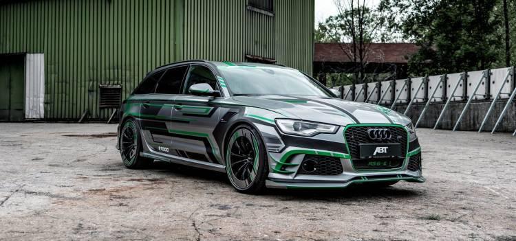 Audi Rs6 E Hybrid 1