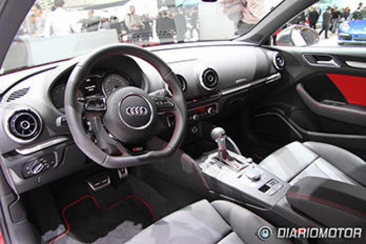 Audi S3 2013 en el Salón de París