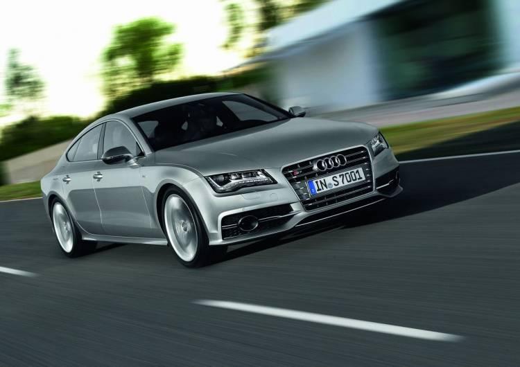 Audi S7 Sportback /Fahraufnahme