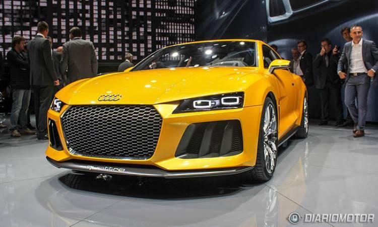 Audi Sport quattro concept: así luce en movimiento el heredero del Audi Quattro