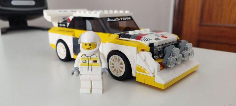 Audi Sport Quattro Lego Comprar P