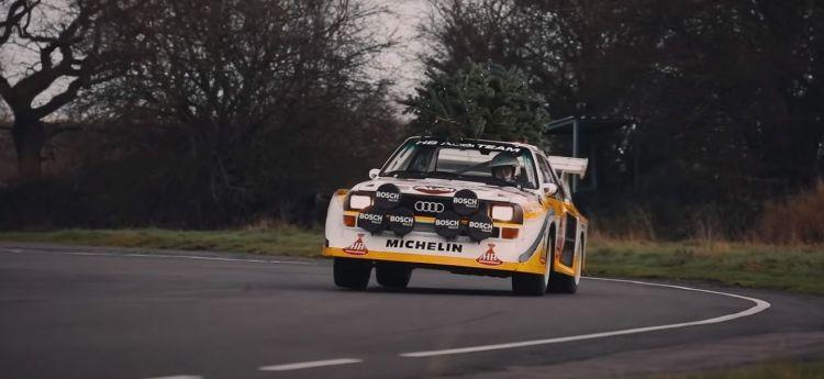 Audi Sport Quattro Navidad