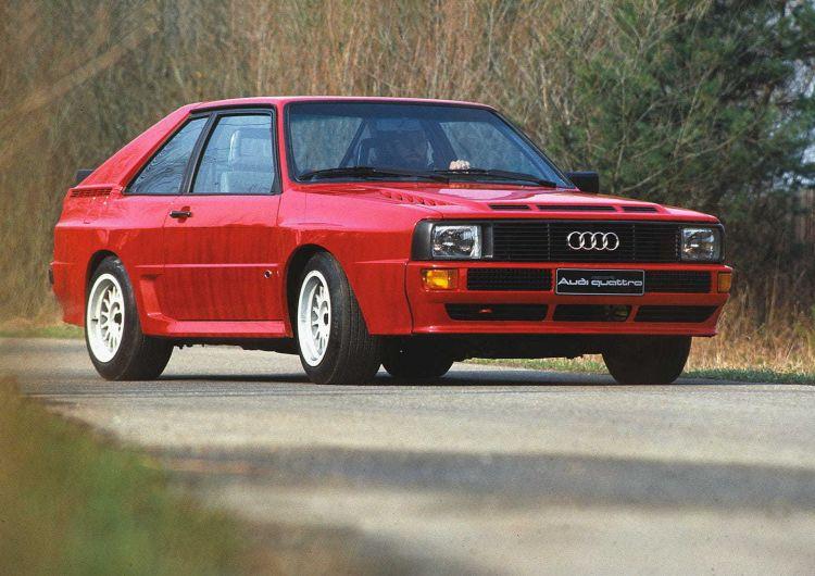 Audi Sport Quattro Velocidad Anos Ochenta