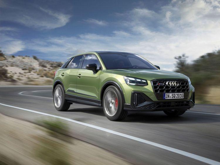 Audi Sq2 2021 Verde 06