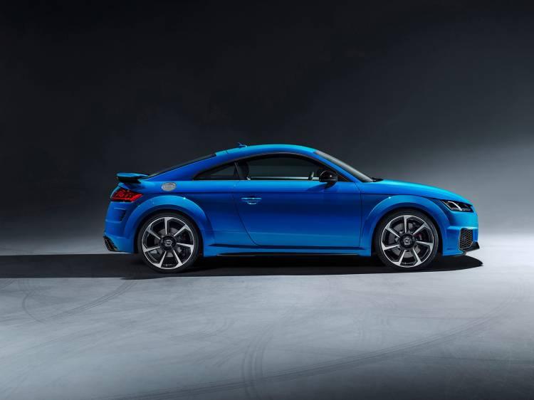 Audi Tt Rs 2019 Azul Exterior Detalles 03