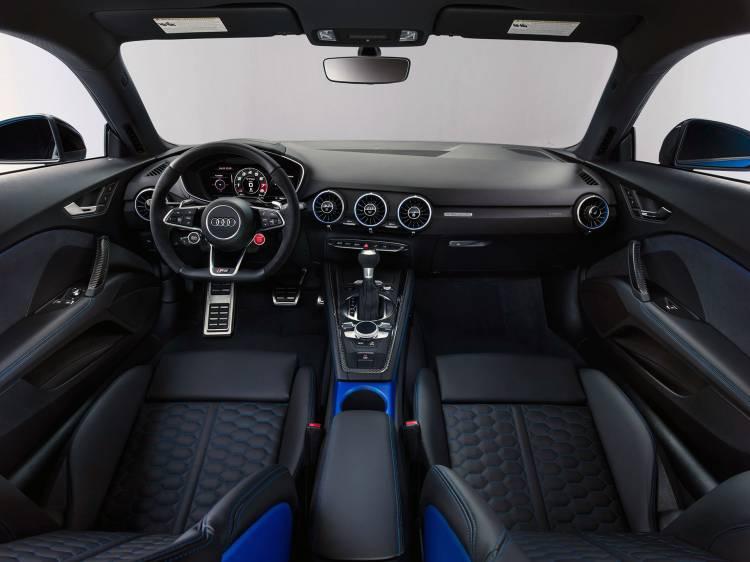 Audi Tt Rs 2019 Azul Interior 01