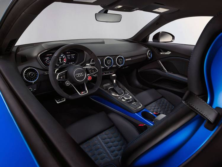 Audi Tt Rs 2019 Azul Interior 02