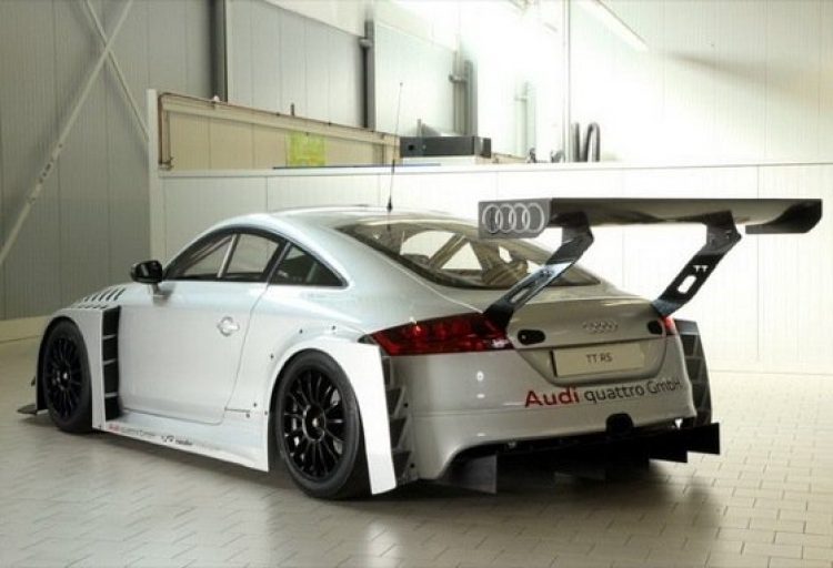 Audi TT-RS de Raeder Motorsport